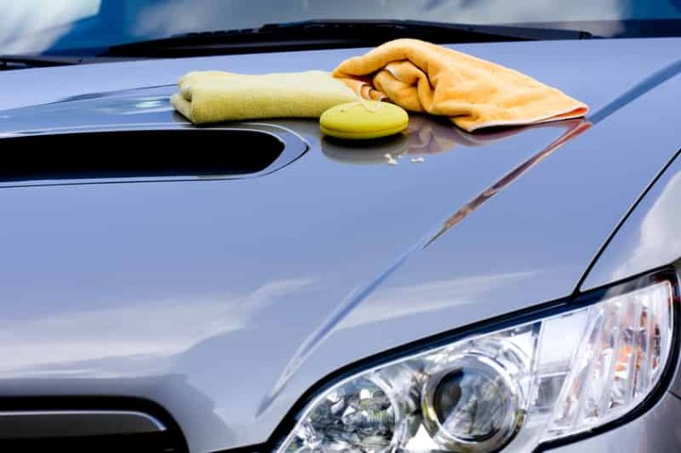 clay bar treatment by mobile car detailers